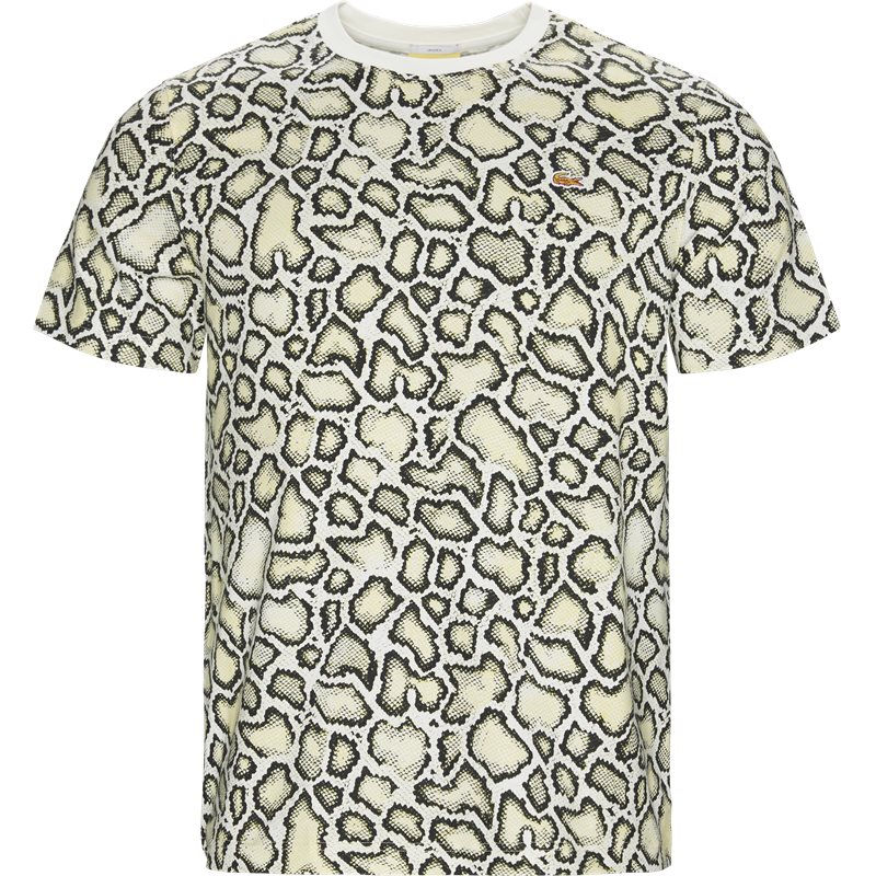 lacoste Lacoste unisex lacoste x opening ceremony embroidered t-shirt off white på quint.dk